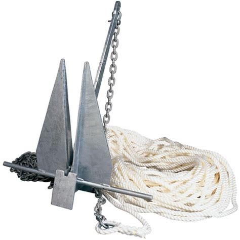 Boat Anchor Set Up by West Marine Anchor And Rode Package 8 Lb Anchor For Boat