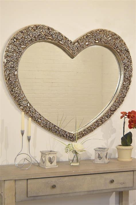 top  heart shaped mirrors  walls mirror ideas