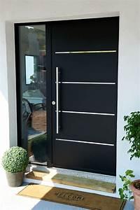 Porte Entree Maison : porte d 39 entr e aluminium cotim 11 porte aluminium design ~ Premium-room.com Idées de Décoration
