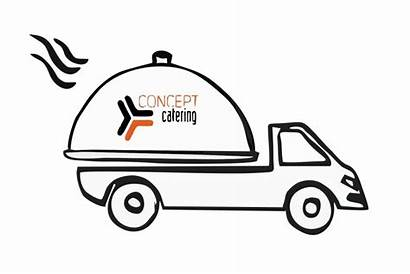 Delivery Catering Concept Persons Number