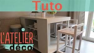 Fabriquer Ilot Central : fabriquer son ilot de cuisine collection et diy fabriquer ~ Melissatoandfro.com Idées de Décoration