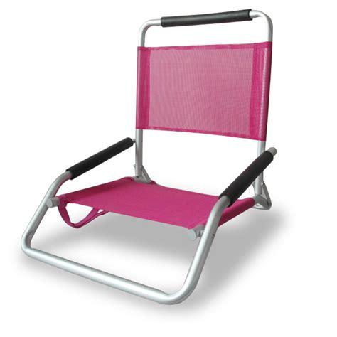 Ostrich Chair Pink by Ostrich Low Sand Chair Blue Chair Beachkit