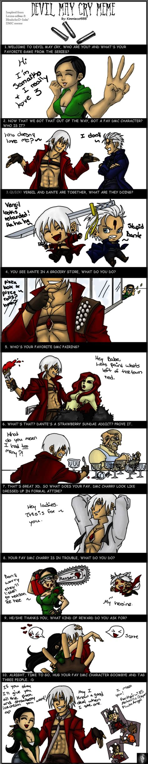 Devil May Cry Memes - devil may cry meme by semaiko on deviantart