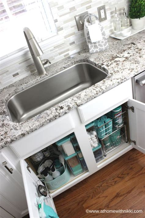 how to organize kitchen sink how to organize the kitchen sink organization 8778