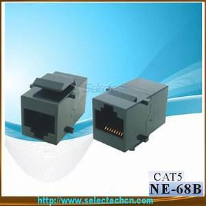 Cat3  Cat5e  Cat6 Rj11  Rj45 Modular Coupler Ne