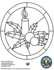 stained glass patterns for free glass pattern 056 christmas