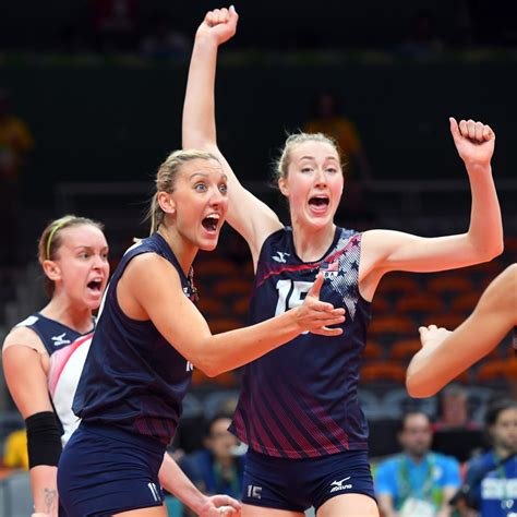 olympic indoor volleyball  womens medal winners