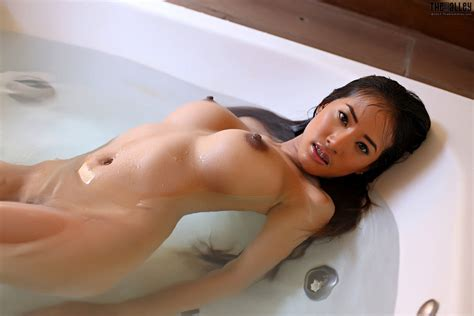 Wallpaper Big Tits Boobs Nipples Asian Water Sexy