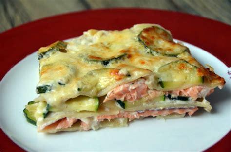 ma cuisine italienne lasagnes au saumon courgettes et béchamel