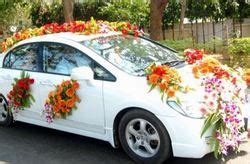 wedding car decoration  mumbai le