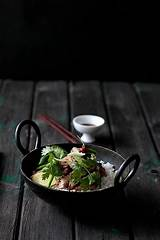 Pictures of Oriental Food Plating