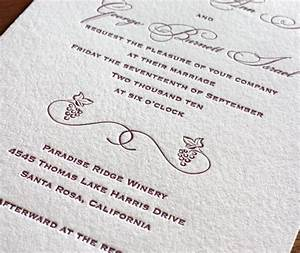 customizing letterpress wedding invitation cards choosing With traditional wedding invitations font