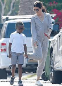 Skazyupdate: Sandra Bullock and her son step out in LA ...