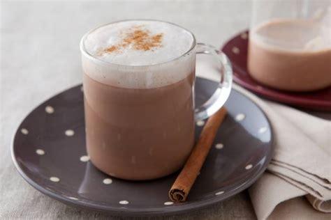 cours de cuisine grand chef recette de chocolat chaud à la mousse de lait cannelle
