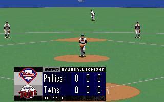 ESPN Baseball Tonight Download (1994 Sports Game)