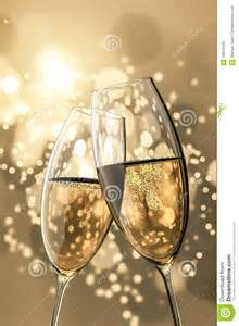 Champagne Glasses Royalty Free