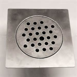 8 quot square top plate floor drain connection koss industrial