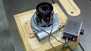 Ametek Lamb Vac Blower Motor With Scr Thyristor Speed