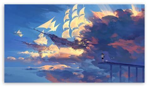 Anime Hd Scenery Wallpapers - anime scenery 4k hd desktop wallpaper for 4k ultra hd tv