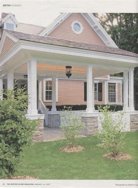 porte cochere  porch craftsman house house exterior house front