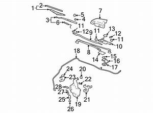 2002 Chevrolet Impala Linkage  Wiper