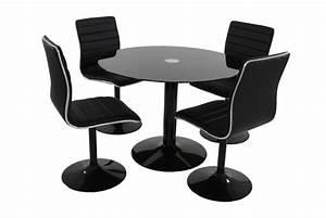 Table A Rallonge Pas Cher : table 4 chaises aniston design sur sofactory ~ Teatrodelosmanantiales.com Idées de Décoration