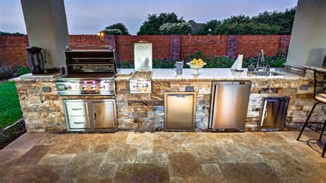 outdoor kitchen designs houston choosing a outdoor grill in houston creekstone 3848