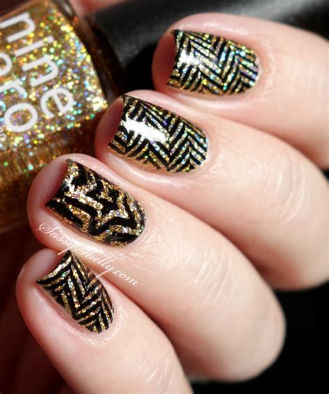 New Image Nails Sparkle Sparkle New Year S Nail With It And Up