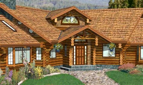 Log Cabin Home Plans Designs Log Cabin House Plans With