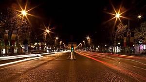 Street Wallpaper HD Night City - WallpaperSafari