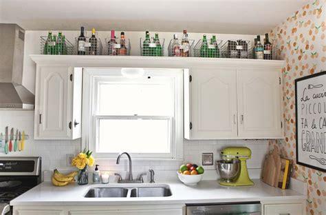above kitchen cabinet storage 15 creative storage ideas to give your kitchen an 3962