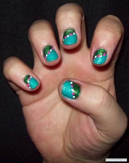 Nail Designs Half Ez Paint Step