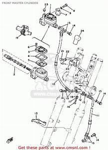 Yamaha Sr500 1980 Oceania Front Master Cylinder