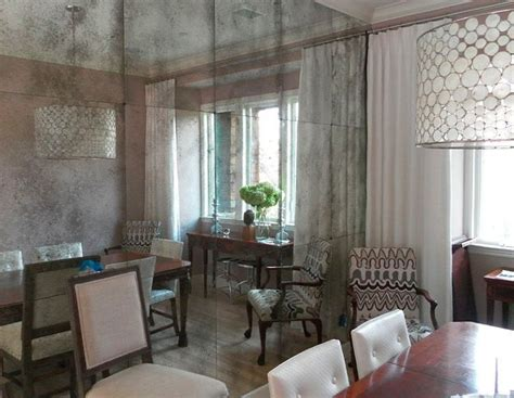 distressed mirror glass antique mirror tiles interior motives