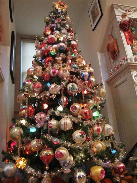 vintage ornaments christmas tree s pinterest