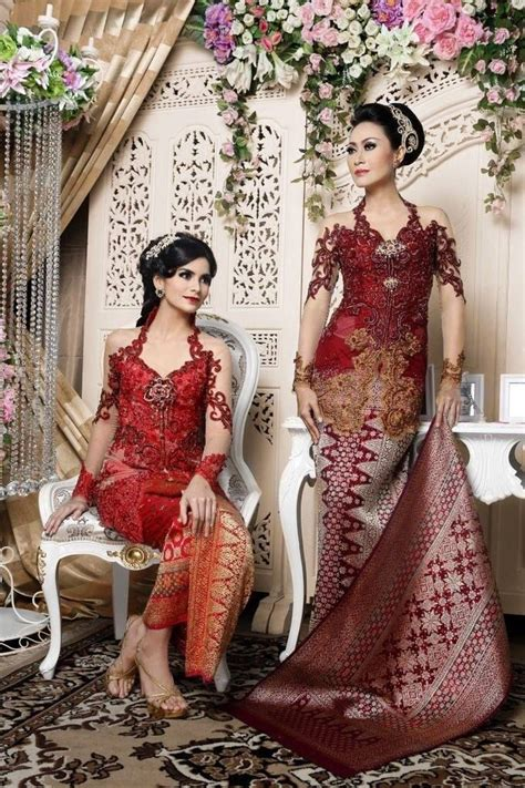 kebaya merah inspirasi kebaya kebaya indonesia kebaya