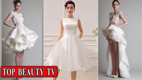 Wedding Dresses For Women : Short White Wedding Dresses , Short Bridal Dresses For