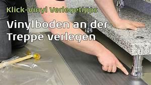 Vinylboden Auf Fliesen : vinylboden an der treppe verlegen youtube von klick vinyl ~ Watch28wear.com Haus und Dekorationen
