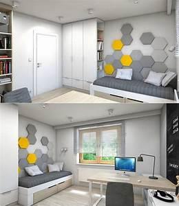 Chambre enfant plus de 50 idees cool pour un petit espace for Chambre enfant petit espace
