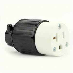 Side Ways Electric Receptacle 3 Wire  20 Amps  125v  Nema