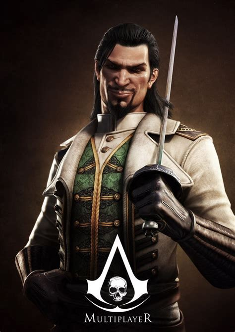 Assassins Creed Iv Black Flag Multiplayer Characters And