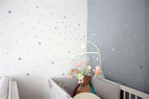 awesome stickers chambre bebe etoile ideas amazing house