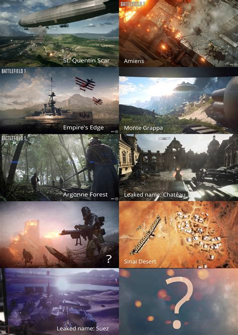 battlefield  maps leaked  names argonne forest map