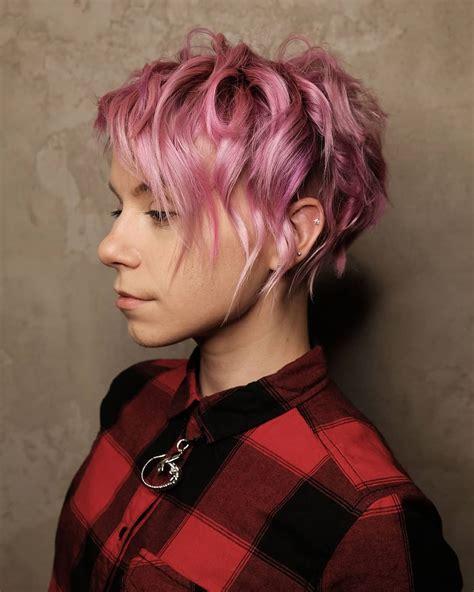 stylish pixie haircuts women short undercut