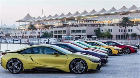 bmw i8 colors bmw i8 colors abu dhabi in lava paint