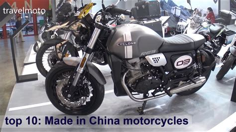 Made In China Motorcycles 2019