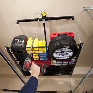 Rangement Plafond Garage : cadeaux 2 ouf id es de cadeaux insolites et originaux un rangement malin pour votre garage ~ Melissatoandfro.com Idées de Décoration