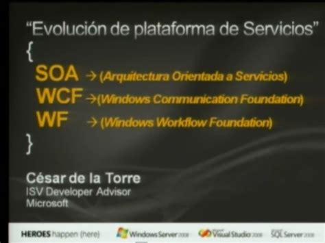 evoluci243n de la plataforma de servicios 512 jpg