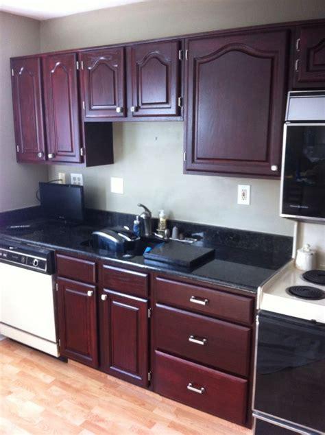 kitchen cabinets   golden oak  changed