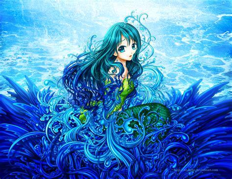 Anime Mermaid Wallpaper - anime mermaid wallpaper wallpapersafari